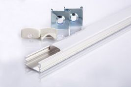 Aluminium Profile for LED Strips - 1 meter - 18mm wide